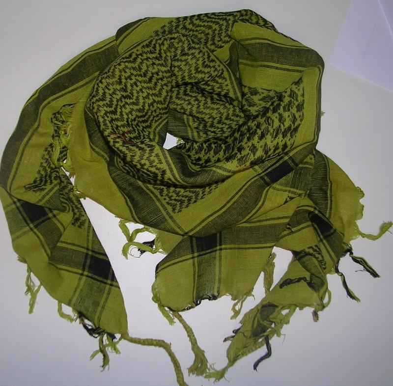 keffieh foulard palestinien vert stock americain 71. Black Bedroom Furniture Sets. Home Design Ideas