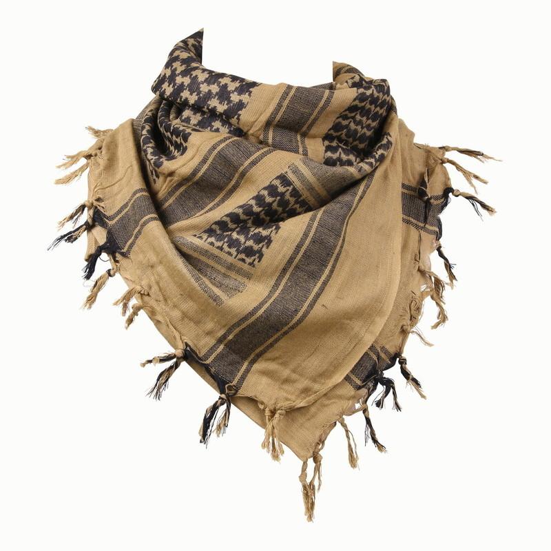 keffieh foulard palestinien sable stock americain 71. Black Bedroom Furniture Sets. Home Design Ideas