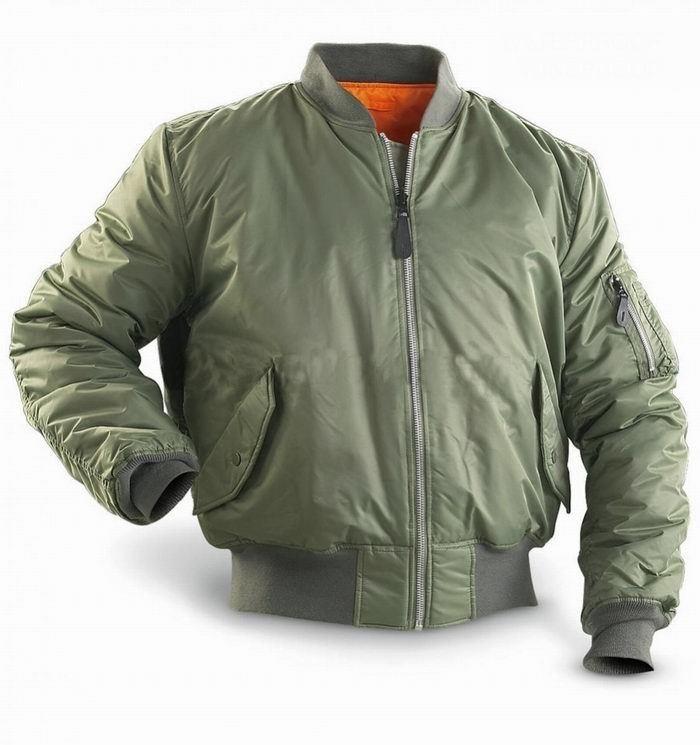 noir ou bleu Blouson de pilote MA1 Bomber/'s US vert olive USA flight jacket