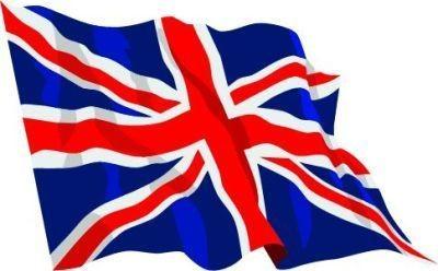 Drapeau Grande Bretagne Stock Americain 71
