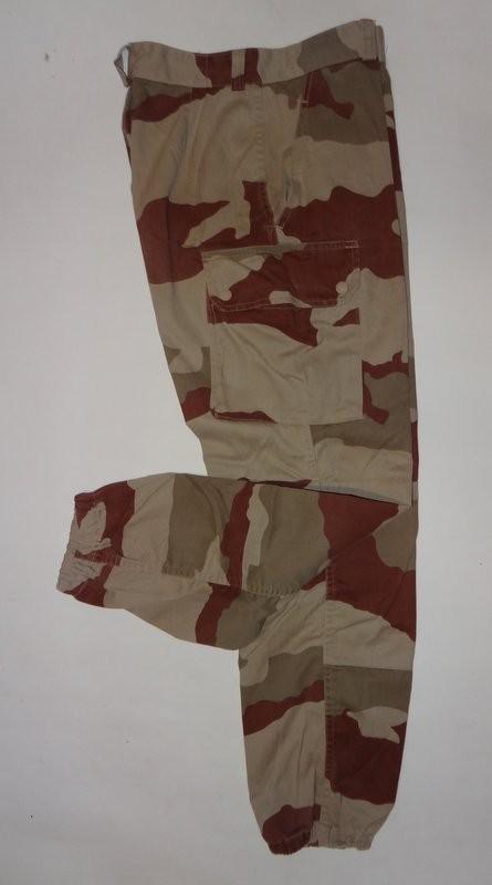 Pantalon de treillis f2 occasion cam desert stock - Treillis militaire occasion ...