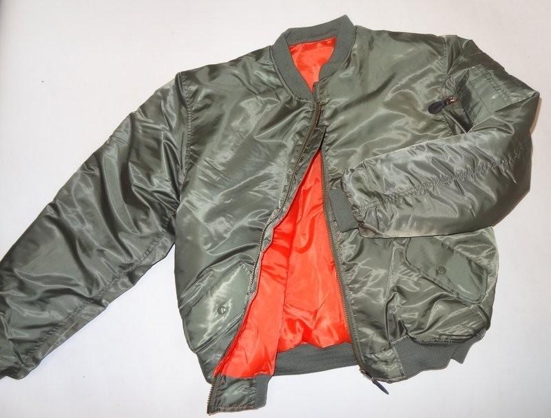 vert olive noir ou bleu Blouson de pilote MA1 Bomber/'s US USA flight jacket