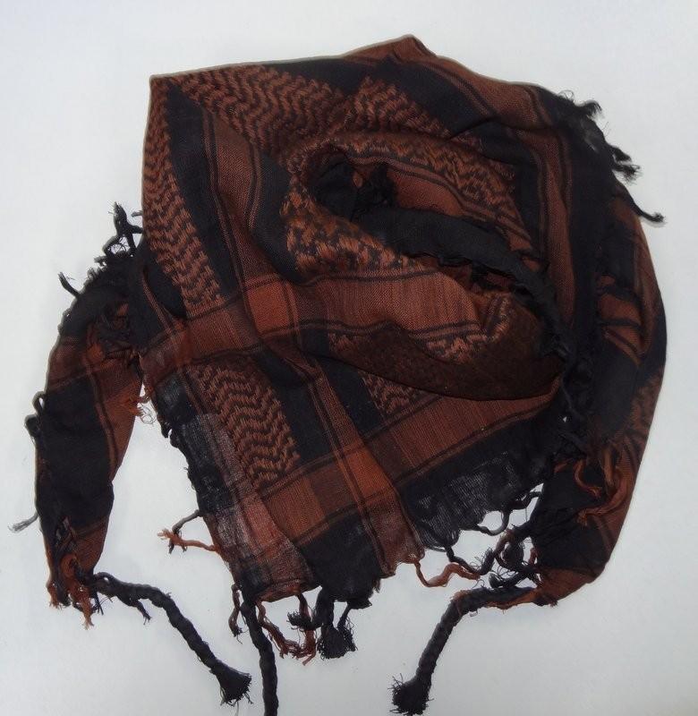 keffieh foulard palestinien marron stock americain 71. Black Bedroom Furniture Sets. Home Design Ideas