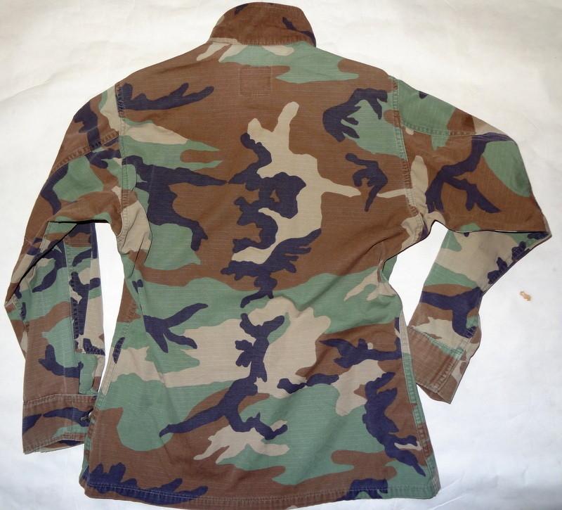 Veste de treillis us army bdu camouflage woodland occasion - Treillis militaire occasion ...