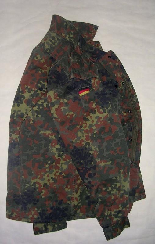 Veste de treillis allemande occasion cam flecktarn - Treillis militaire occasion ...