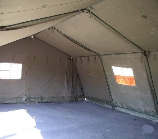 segment de 2ml de long pour tente militaire occasion stock americain 71. Black Bedroom Furniture Sets. Home Design Ideas