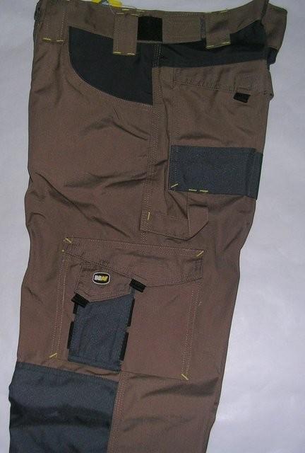 pantalon de travail multipoches brun stock americain 71. Black Bedroom Furniture Sets. Home Design Ideas