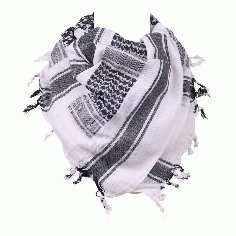 keffieh foulard palestinien blanc noir stock americain 71. Black Bedroom Furniture Sets. Home Design Ideas