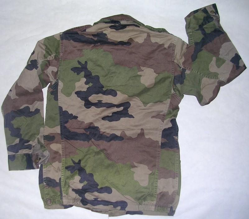 Veste de treillis f2 occasion camouflage ce arm e - Treillis militaire occasion ...