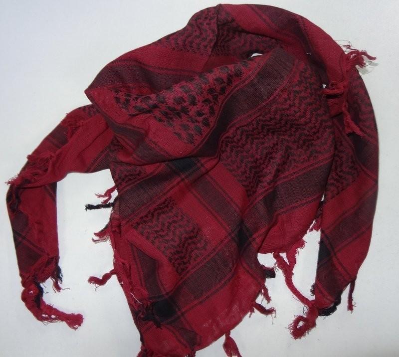 keffieh foulard palestinien bordeaux stock americain 71. Black Bedroom Furniture Sets. Home Design Ideas
