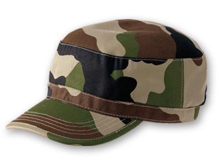 Beau design double coupon Meilleure vente casquette army camouflage woodland